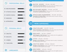 #26 cho I need a infographic cv/resume. bởi omerozdemir