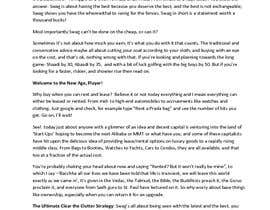 #7 untuk Write an article of luxury lifestyle oleh GokulRK