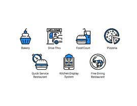 #11 per Design 8 custom icons for a startup website (Flat / Cartoon type) da NikWB