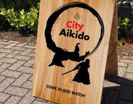 #11 cho Design a Sandwich Board Welcome Sign for an Aikido Dojo bởi chromedokuro