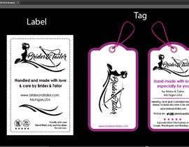#7 para Designing a label and dress tag for my customized wedding dresses. por BlaBlaBD