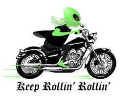 #1 for Alien on Motorcycle design by georgemygts