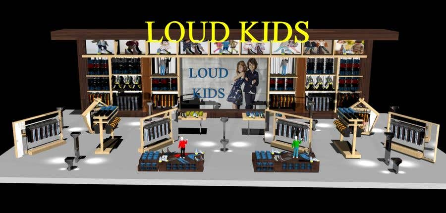 Contest Entry #8 For Do 3D Modelling Of Kids Corner For Department Store.