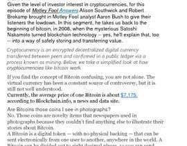 #1 para Bitcoin and Cryptocurrencies Research Analysis por Hasibulhossain6