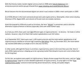 #2 para Bitcoin and Cryptocurrencies Research Analysis por Alekha12