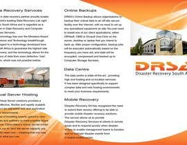 #9 untuk Brochure Design for Disaster Recovery South Africa oleh MagicProductions