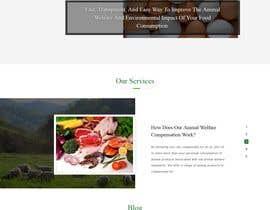 #5 pentru Build the website for the first food animal welfare compensation platform: foodoffset.org, simple but slick (without payment page) de către jaswinder527