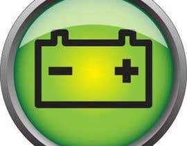 #4 for Icon or Button Design for For clients who are buying our batteries from us by order by computer af joeski1969