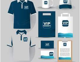 #3 para Necesito diseño de logo y diseño para tarjetas de presentación, hoja membretada, sobres para carta, sobres A4, carpetas A4, credenciales y lo relacionado a infografia empresarial. de vipdesign1