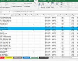 #11 for reorganize excel spreadsheet for online store by robcastillo