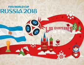 #14 cho Russia 2018 Worldcup - Restaurant Placemat bởi oussama723