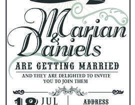 marianayepez tarafından Wedding Stationery Design, Vintage, Steampunk için no 6