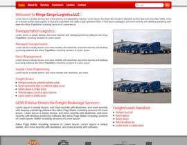 #37 cho Build a Website for Transport Logistics bởi indancreativeway