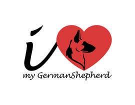 Tasnubapipasha tarafından Logo Design for ilovemyGermanShepherd.com için no 29
