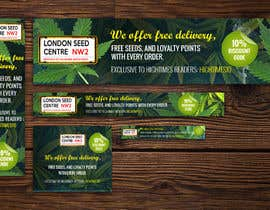 #16 for Advertisemnt Banners for U.K's Largest Cannabis Seed Website. by fourtunedesign