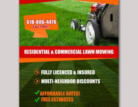 #34 for Design an Advertisement for lawn mowing af eaminraj