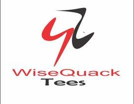 #161 for Wisequacktees.com Logo by ankitsaini3