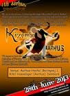 Graphic Design for Kizomba-aarhus.dk için Graphic Design18 No.lu Yarışma Girdisi