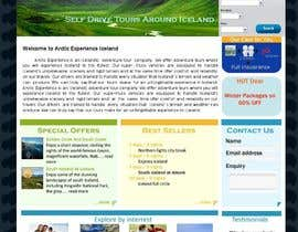 nº 17 pour Website Design for Arctic Experience Iceland par abumisaac