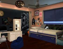 #6 for Unisex children's bedroom design x 2 af tharinis