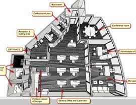 Nro 1 kilpailuun Architecture Design: Business Office käyttäjältä ronaaron2