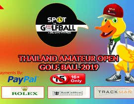 #12 cho Banner for Golf Tournament..  Thailand Amateur Open bởi tayyabaislam15