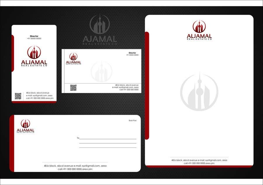 Bài tham dự cuộc thi #46 cho Stationery Design for AlJamal Real Estate Co.