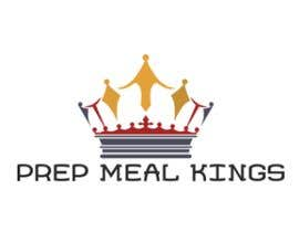 "#6 for The logo name is ""Prep Meal Kings"". We would like a unique modern look thats appealing to a fitness audience. Recommended colours can be: Gold, Black, White, Rose Gold, White and/or Red. af nurjannahzainal3"