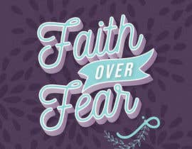 #114 for Faith Over Fear Book Cover Contest af DCVAgus