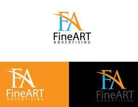 #81 untuk Design a Logo for FineART Advertising oleh blinket2