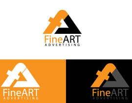#82 untuk Design a Logo for FineART Advertising oleh blinket2
