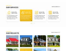 #25 para Anvil Roofing and Siding Landing Page Mockup de nikhil33453