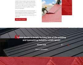 #15 para Anvil Roofing and Siding Landing Page Mockup de ByteZappers