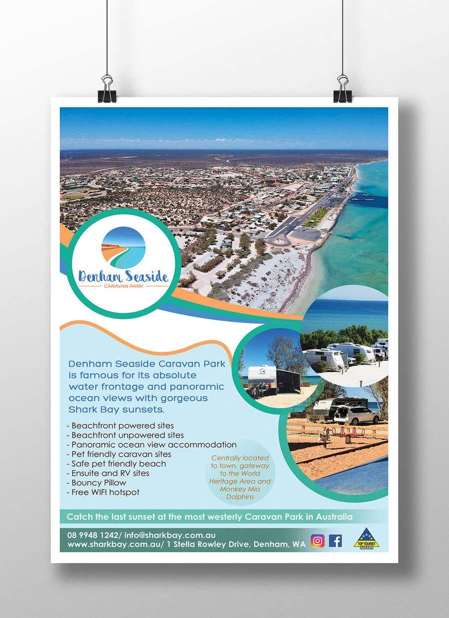 Bài tham dự cuộc thi #7 cho Design an A4 Advertisement for Denham Seaside Caravan Park