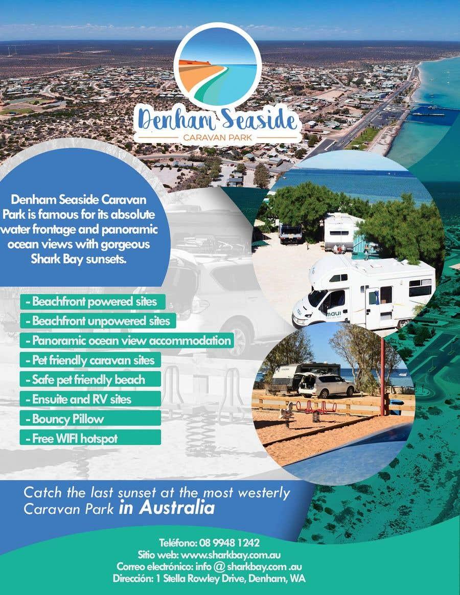 Bài tham dự cuộc thi #10 cho Design an A4 Advertisement for Denham Seaside Caravan Park