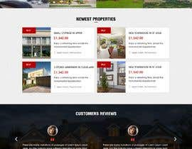#9 for Real Estate Landing Page Template by webidea12