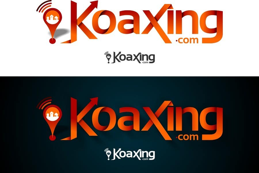 #899 for LOGO DESIGN for marketing company: Koaxing.com by Woyislaw