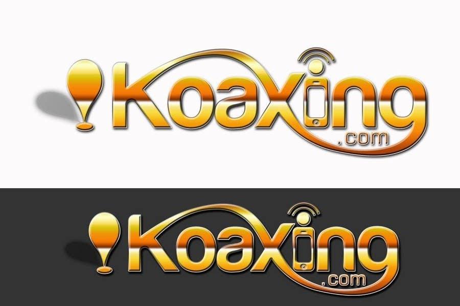 LOGO DESIGN for marketing company: Koaxing.com için 925 numaralı Yarışma Girdisi