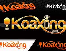nº 871 pour LOGO DESIGN for marketing company: Koaxing.com par arteq04