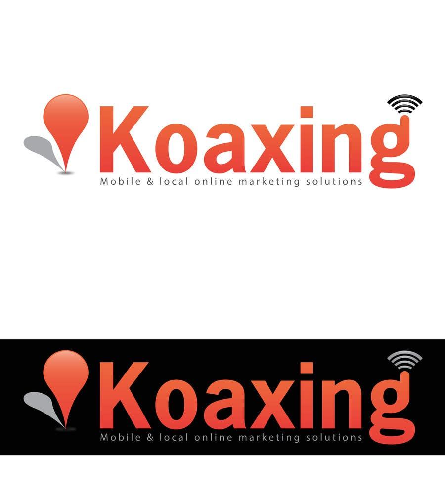 #839 for LOGO DESIGN for marketing company: Koaxing.com by bestidea1