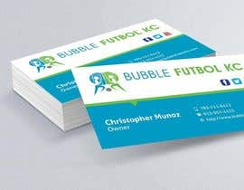 #34 cho Design some Business Cards for Bubble Futbol KC bởi dinesh0805