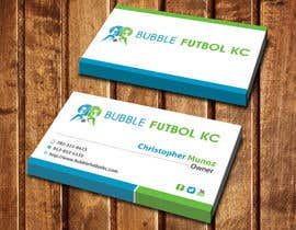 #75 cho Design some Business Cards for Bubble Futbol KC bởi dinesh0805