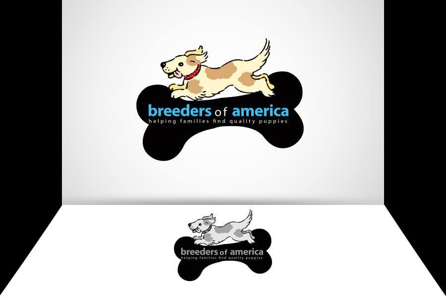 Konkurrenceindlæg #                                        3                                      for                                         Logo Design for Breeders of America