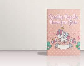 #35 για Creative Doodle Book for Girls Book Cover από zouhairgfx
