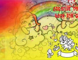 #6 για Creative Doodle Book for Girls Book Cover από kalamshikdarart