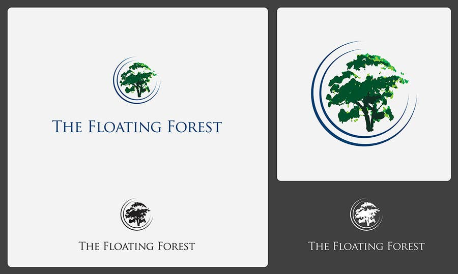 Inscrição nº 292 do Concurso para Logo Design for The Floating Forest