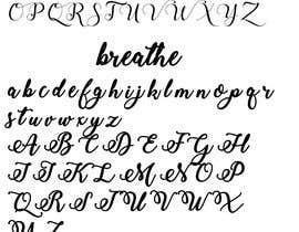 #9 for i need a typeface font created by ayushivarshney78
