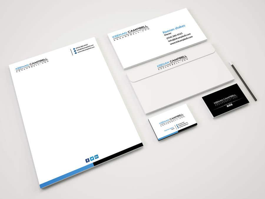 Entry 4 By Lipiakhatun8 For Design Stationary Brochure Template