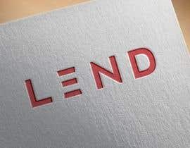 """#8 untuk A logo done for """"LEND"""" oleh Fahad370"""