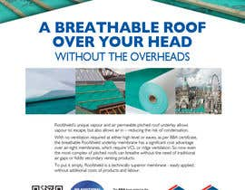 #117 untuk Roofshield Advertisement Design for A. Proctor Group Ltd oleh telf